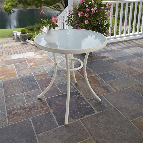 tempered glass patio table kmart com