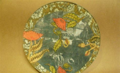 Glass Plates For Decoupage - enchanted chandeliers decoupage glass plate class