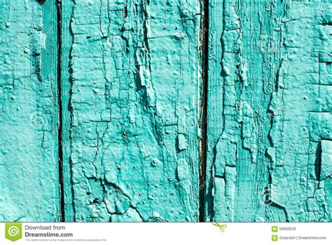 wooden background with peeled colour and cracks mint color stock photo image 58993528