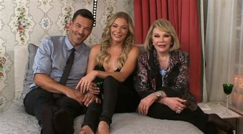 In Bed With Joan by Eddie Cibrian Joan Rivers
