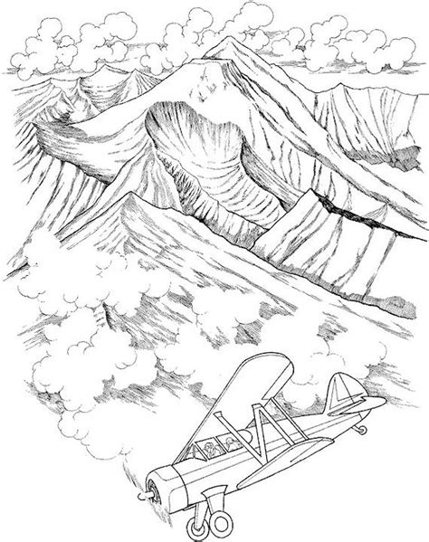 Coloring Page Landscape by Landscape Coloring Pages For Adults Free Coloring Pages