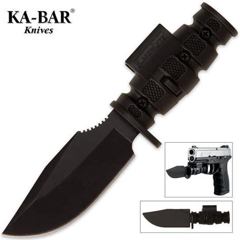ka bar pistol bayonet kabar laserlyte pistol pb1 bayonet budk knives