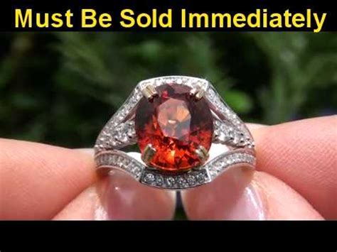 Hq Orange Garnet orange investment grade spessartite garnet