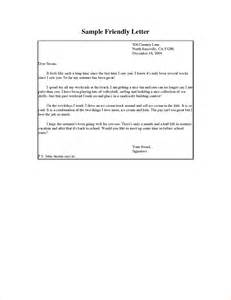 a friendly letter format business proposal templated