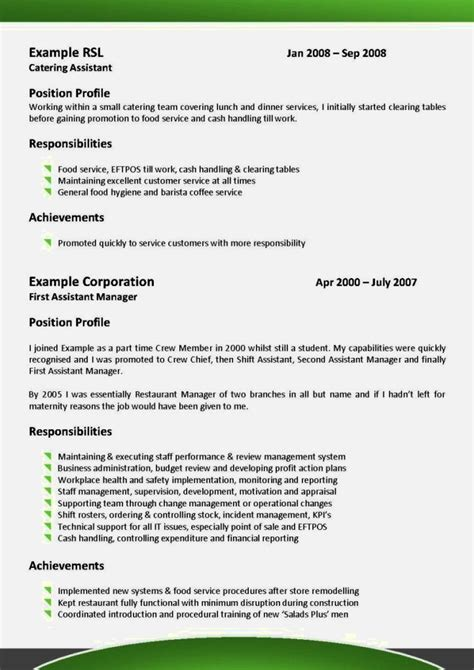 format of a recent cv latest cv format sle resume template cover letter