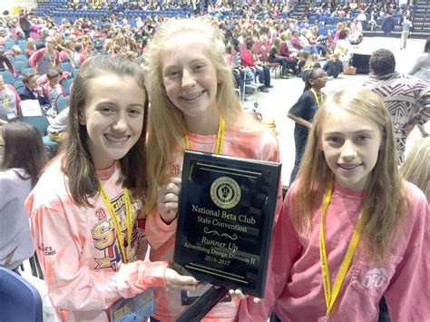 St George School Beta Club st george s students attend beta convention features