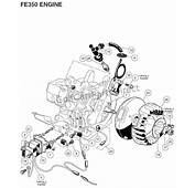 Engine  FE350 Part 2 Club Car Parts &amp Accessories
