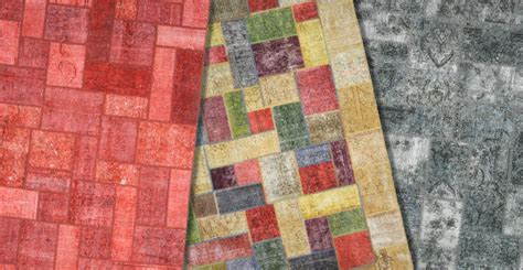 tappeti patchwork comprare tappeti patchwork e tappeti vintage a