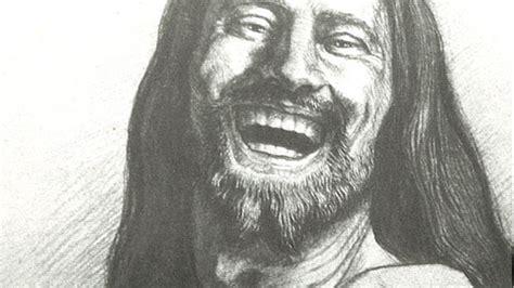 Laughing Jesus Meme - big old goofy world jesus laughed
