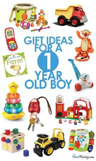 gifts for 1 year boy