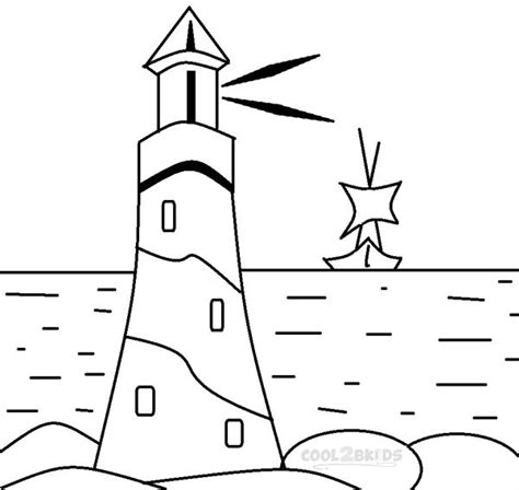lighthouse template craft lighthouse coloring pages for images crafts two