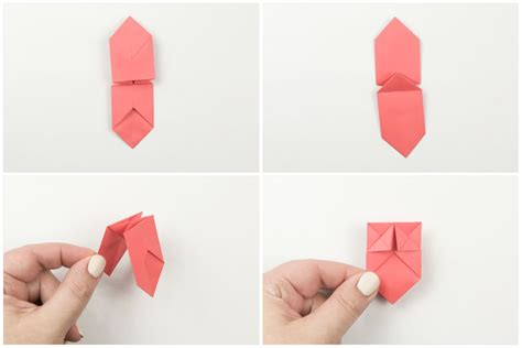 How To Make A Origami Crossbow - easy origami bow tie tutorial