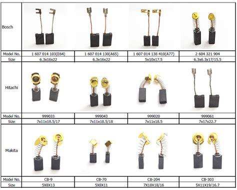 Makita Cb459 Carbon Brush Original electric power tools carbon brushes for drill parts aeg
