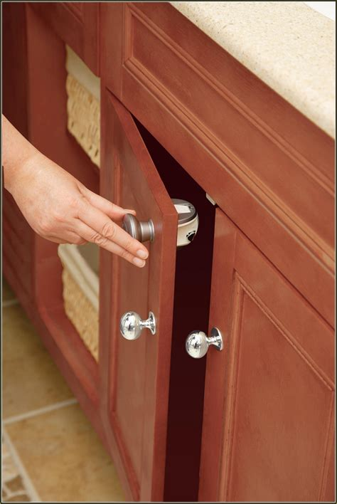 baby proofing cabinets without drilling child proof cabinet locks no drilling home design ideas