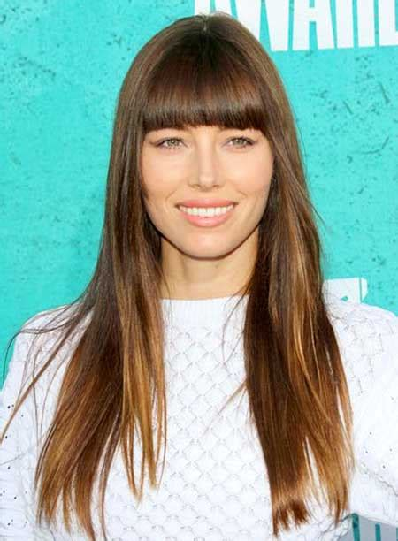 valerie burnett hair style long hairstyles for brunettes with straight bangs styles