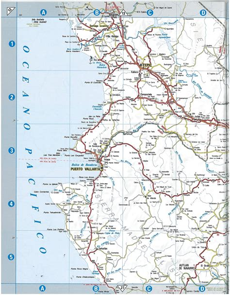 atlas map of mexico themapstore guia rojimexico road atlasmexicoroad