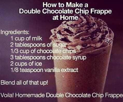 chocolate chip frappe musely