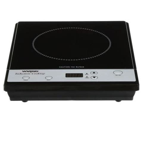 waring induction cooktop waring pro professional 10 in induction cooktop in black