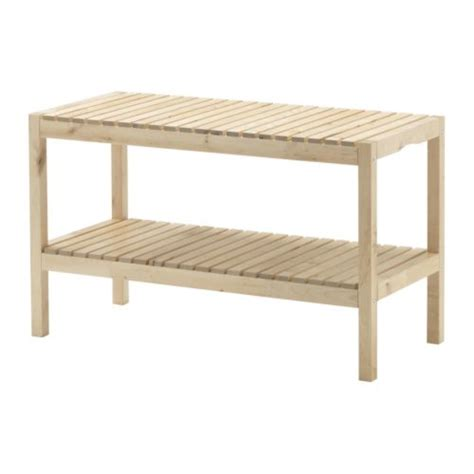 ikea entryway bench home thrifty home ikea shower bench turned shoe storage