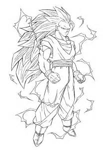 desenho goku dragon ball colorir tudodesenhos