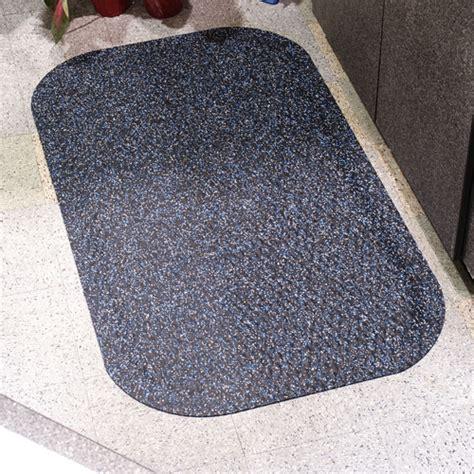 hog heaven confetti rubber floor mat