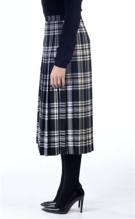 all pleated skirt tartan by scotweb