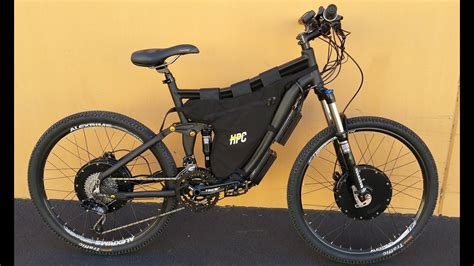 All About Bicycle 2 hpc 7000w 2 wheel drive xc 2 electric bike
