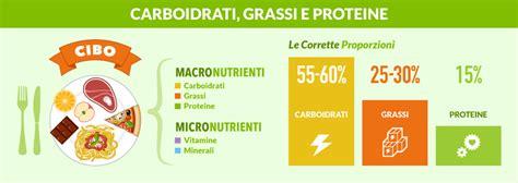 alimentazione carboidrati proteine carboidrati e grassi le regole per una dieta