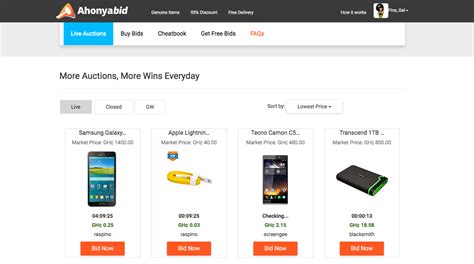 bid electronics ahonyabid best auctions site in bid and win on