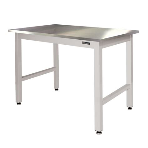 iac benches iac lab table bench stainless steel top equipmax