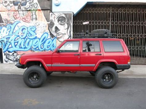 2000 Jeep Roof Rack by Purchase Used 2000 Jeep Xj Lifted Winch Roof