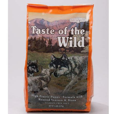 call of the puppy food taste of the high prairie puppy formula roasted bison roasted venison from