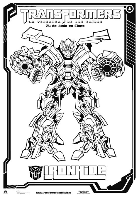 transformers coloring pages transformers 3 coloring pages