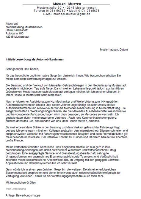 Bewerbungsschreiben Ausbildung Automobilkauffrau Bewerbung Automobilkaufmann Ungek 252 Ndigt Berufserfahrung Sofort