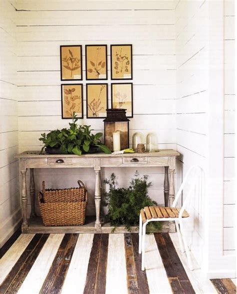 floors and decors gray console table country entrance foyer