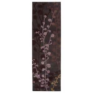 Plum Runner Rug Surya Surya Cosmo Ultra Plum Grape Runner 2 6 Quot X8 0 Quot Area Rug Pricefalls