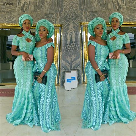 mint green aso ebi styles lace aso ebi styles just for you