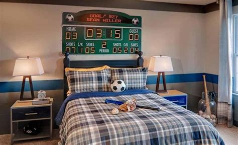 sports bedrooms 15 sports inspired bedroom ideas for boys rilane