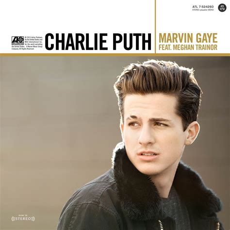 Charlie Puth Record Label | charlie puth marvin gaye feat meghan trainor warner