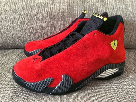 Jordan 14 Ferrari by Sneaker Of The Day Air Jordan 14 Retro Quot Ferrari Quot The Source