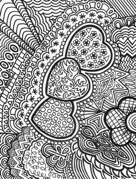 doodle patterns to colour best 25 colouring pages ideas on