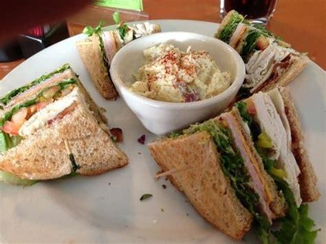 club sandwich picture of patio cafe fresno tripadvisor