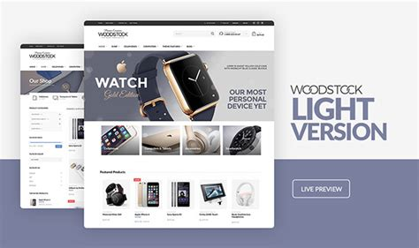 themes compatible with woocommerce woodstock electronics responsive woocommerce theme by
