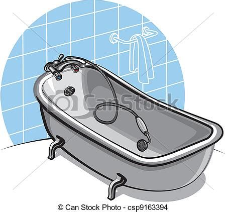 bathtub drawings eps vector of bathtub csp9163394 search clip art