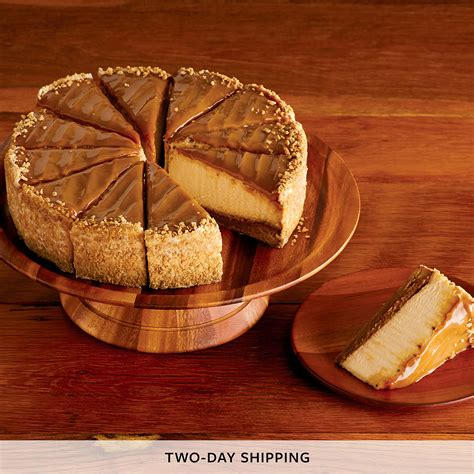 Cheesecake Factory Home Delivery by The Cheesecake Factory Dulce De Leche Caramel Cheesecake