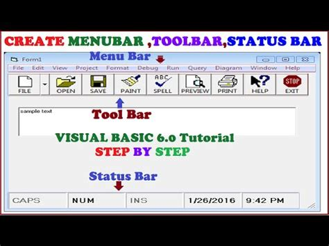 tutorial visual basic access advanced login system using visual basic 6 0 and ms access