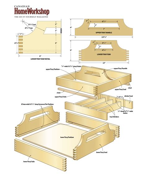 woodworking plans wooden diy wood tray plans plans free