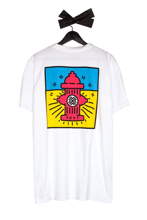 Details About T Shirt post details pop hydrant t shirt white bonkers shop