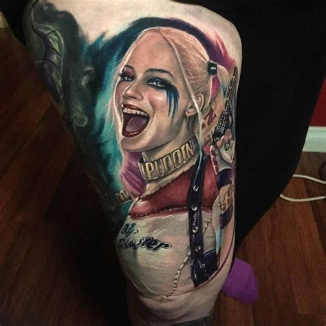 harley quinn tattoo ideas 50 amazing harley quinn inspired designs and