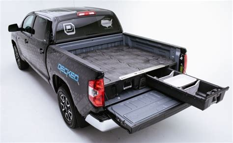 Slide Out Tool Box For Bed by Decked Bed Drawer Slides Tool Boxes Truck Boxes
